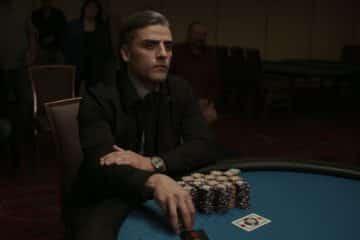Oscar Isaac i The Card Counter